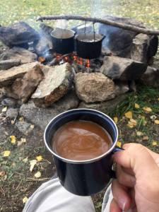 Coffee made from Baikal water