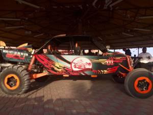 desert safari, that wasn't our car...
