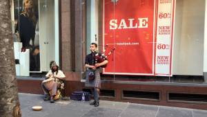 Bagpipes and African Drums - go well together!