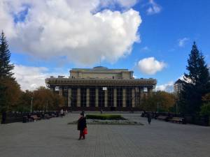 The Opera and Ballet Theatre - bigger than the Bolshoi but unfortunately closed due to construction