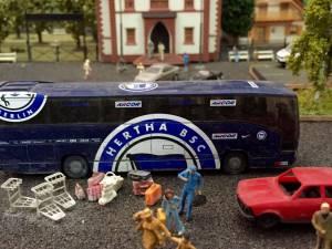 ...where we found this Hertha fan bus!