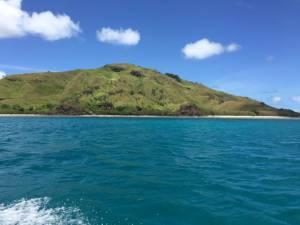view on Nacula from the boat