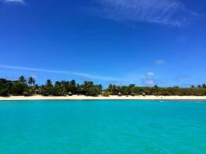 the neighboring resort, Blue Lagoon