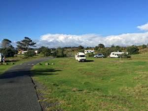 Uretiti beach campsite