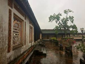 inside the citadel in Hue