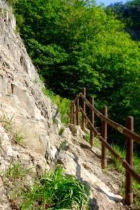 ...and steep climbs
