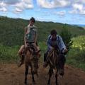...by horseback (me) / mule (Henry)