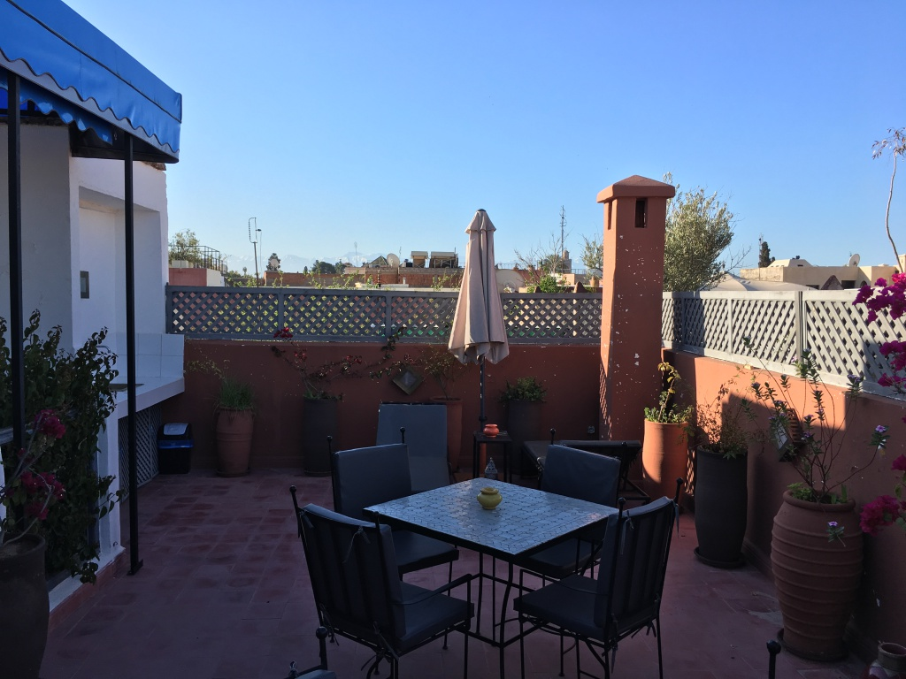 View from our Riad