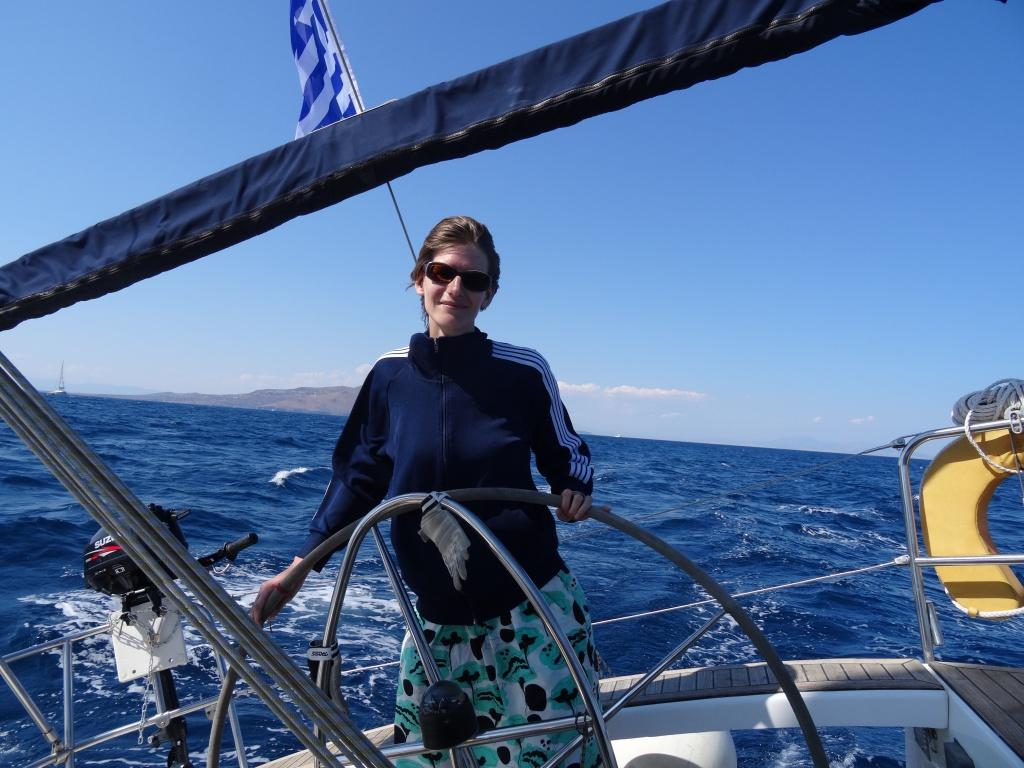 Anja in Greece
