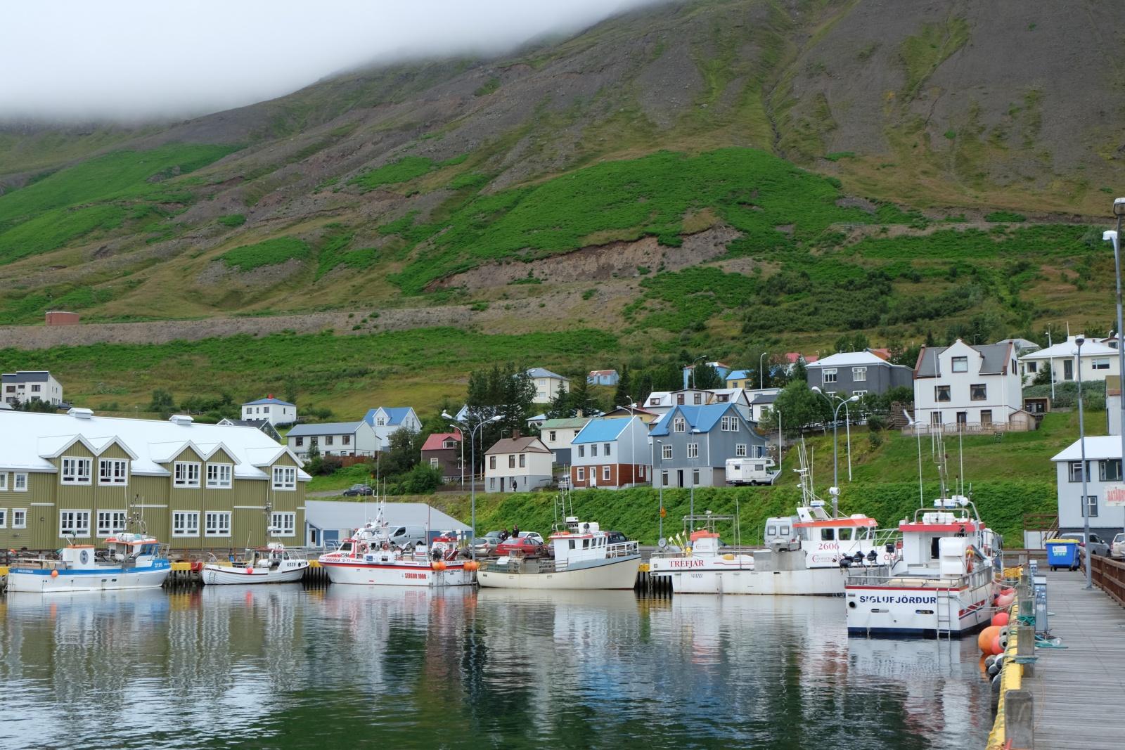 Fishing town Siglufjördur