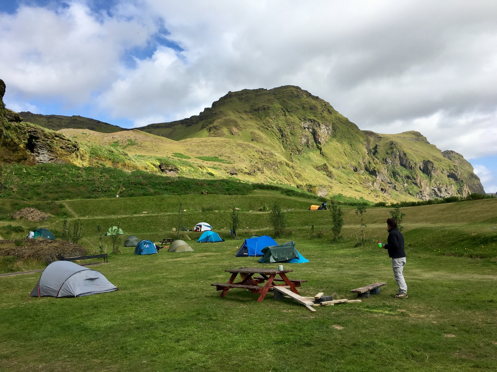 Picture of Camping in Vik, Iceland
