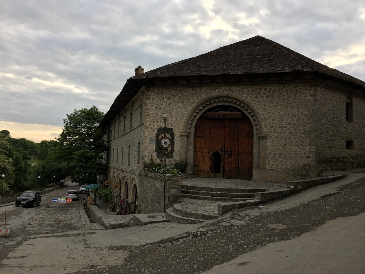 Karawanserei from outside