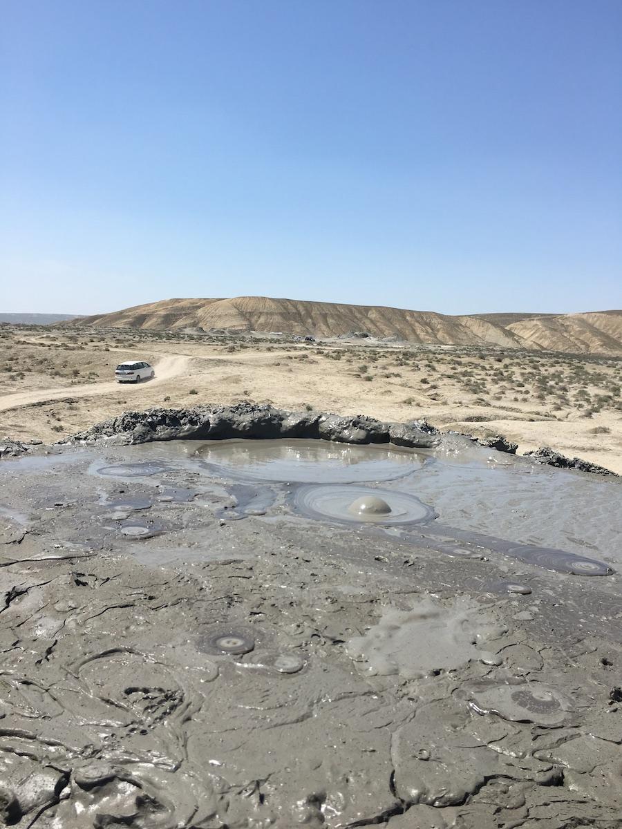 blubbering mud volcano